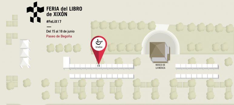Ediciones Trabe en la Feria del Libro de Xixón 2017