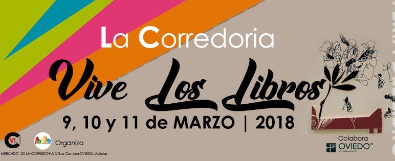 Feria del libro «La Corredoria Vive los Libros»