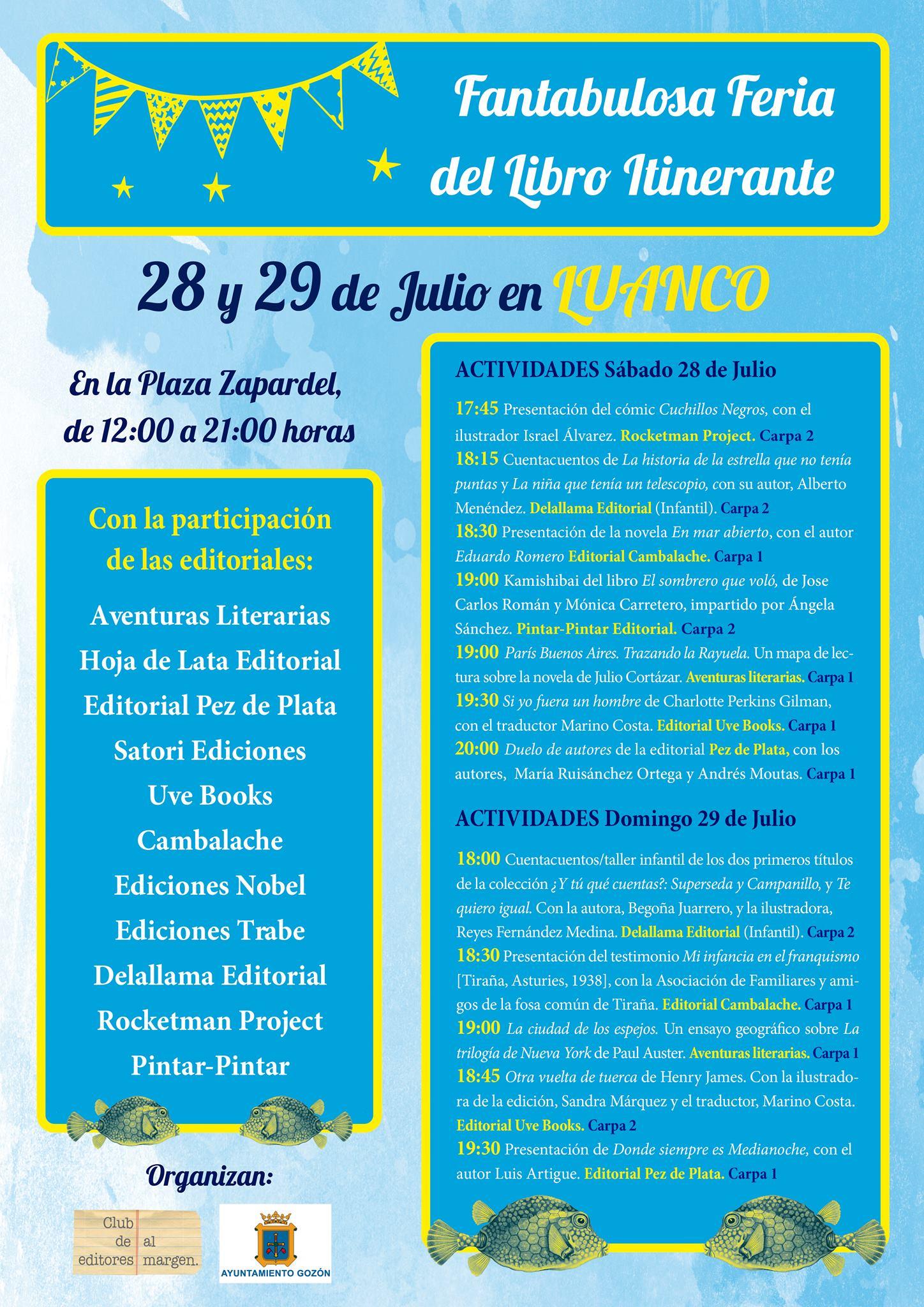 Fantabulosa-Luanco-2018-Programa