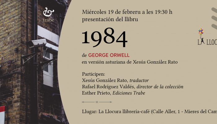 Presentación en Mieres del Camín de «1984»