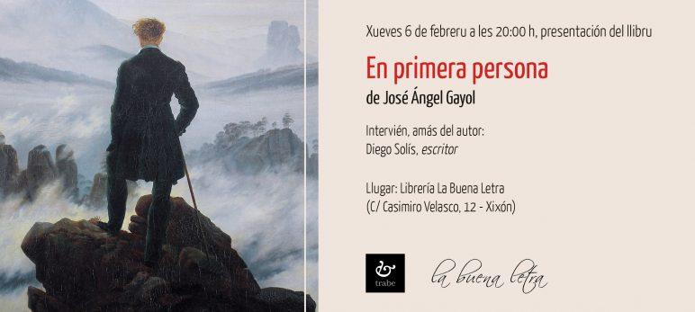 Presentación en Xixón d'«En primera persona» de José Ángel Gayol