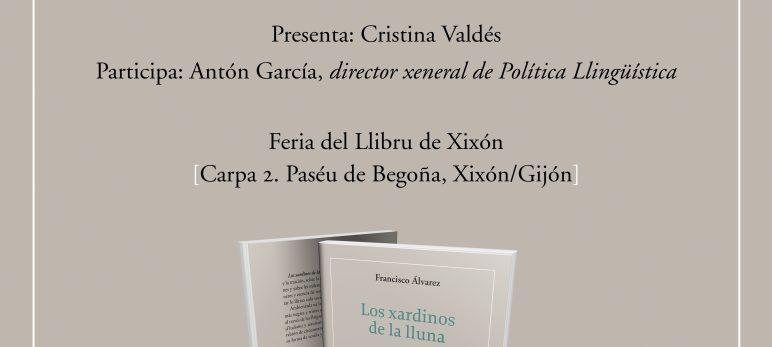 Presentación de «Los xardinos de la lluna» de Francisco Álvarez